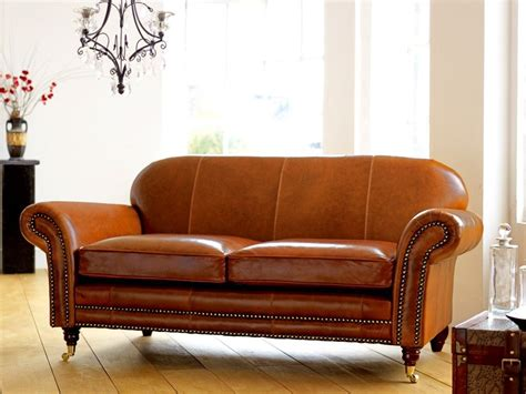 tan leather loveseat tough snazzy distressed leather based couch coming with
