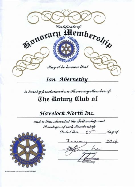 honorary member certificate template 11 honorary certificate templates pdf docx free