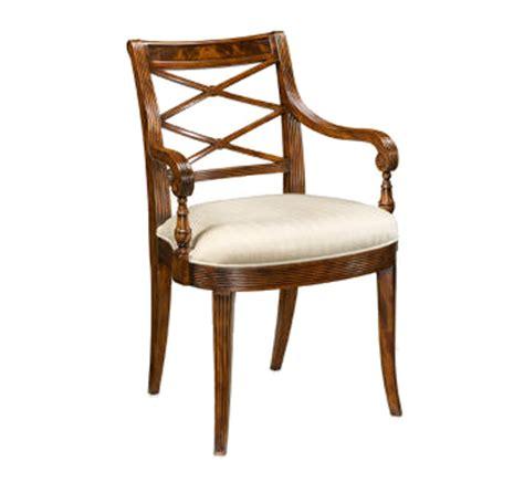 regency armchair regency x armchair the kellogg collection