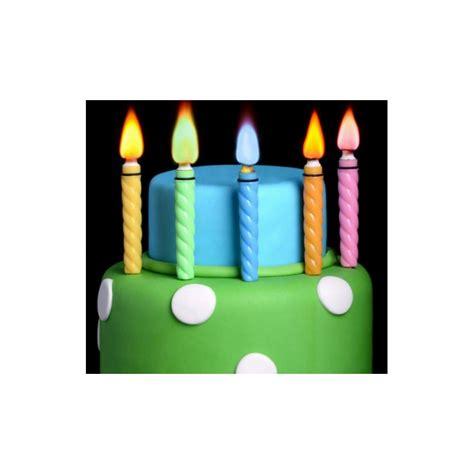 candele per torte candele con fiamma colorata per torte