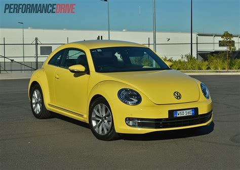 volkswagen bug 2013 2013 volkswagen beetle review video performancedrive