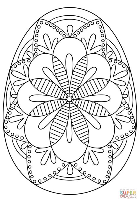 coloring easter eggs detailed easter egg coloring pages az coloring pages