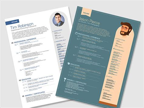 design cv ai 10 best free resume cv templates in ai indesign psd