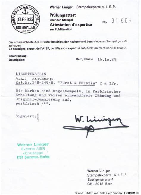 Musterrechnung Differenzbesteuerung Nach 25a Ustg Liechtenstein Mi Nr 304 305 B Xx Teure Z 228 Hnung Postfrisch Attest Ebay