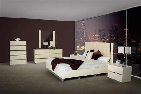 italian lacquer bedroom set luxor modern beige lacquer italian bedroom set