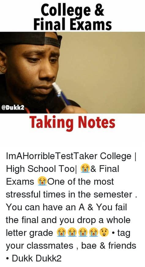 Finals Meme College