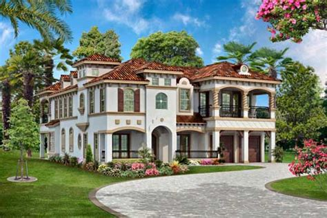 italian style house plans 3995 square foot home 2