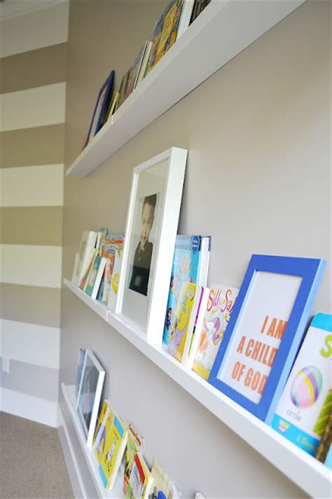 ribba book shelves sita montgomery interiors ikea ribba picture ledge turned