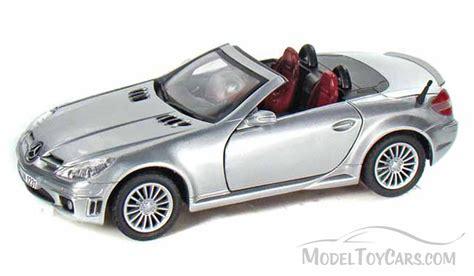 mercedes car model mercedes slk55 amg silver motormax 73292 1 24
