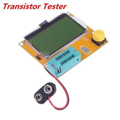 npn transistor tester multi functional lcd backlight mega328 transistor tester