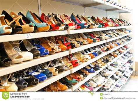 shoe store in milan editorial stock photo image 23489263