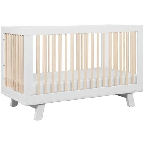 Babyletto Hudson 3 In 1 Convertible Crib Babyletto Hudson 3 In 1 Convertible Crib White Washed