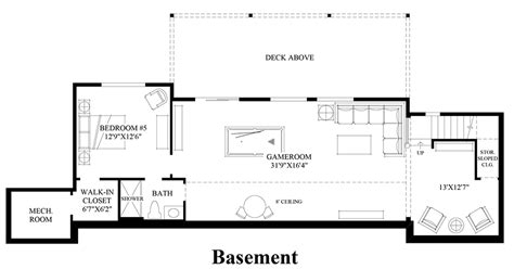 design your own basement floor plans pipers glen the aldrich home design