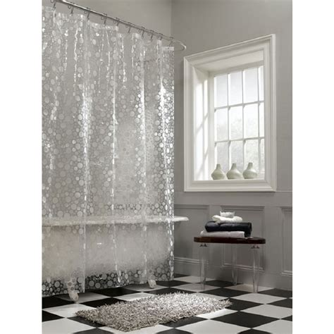 clear curtain nice ideas clear shower curtain the homy design