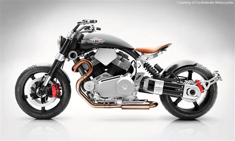 hellcat bike confederate x132 hellcat speedster first look motorcycle usa