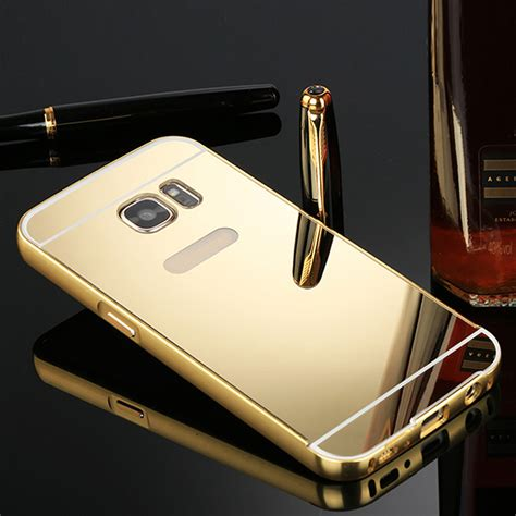 Hardcase Bumper Mirror Samsung S7 Edge Casing Cover for samsung galaxy s7 s7 edge luxury aluminum phone cover skin ebay