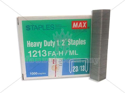 Sdi Heavy Duty Staples 23 13 1213 by Max Staples 1213 23 13 Fauzul Enterprise