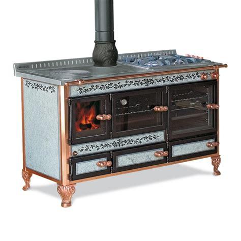 stufa a legna con piano cottura monte rosa wekos srl termostufe cucine a legna