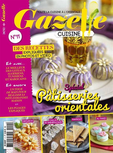magazine gazelle cuisine gazelle cuisine 11 mags gazelle me cuisine