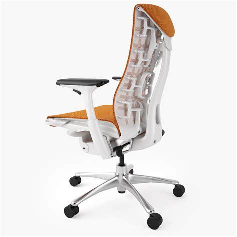 top   ergonomic office chairs  model max obj fbx mtl cgtradercom