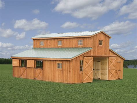 portable buildings sheds horse barns fisher barns