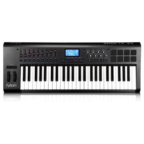 Keyboard M Audio m audio axiom 49 v2 midi keyboard 49 key midi keyboard from inta audio uk