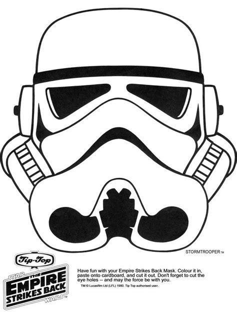 printable vader mask star wars printable masks kaplans page storm trooper