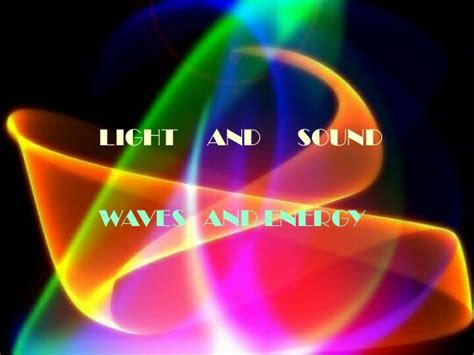 lights and sounds light and sound brief presentation for eso