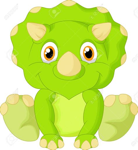 triceratops royalty free cliparts vectors