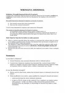 Constructive Dismissal Resignation Letter Exles by Resignation Letter Format Involuntary Exle