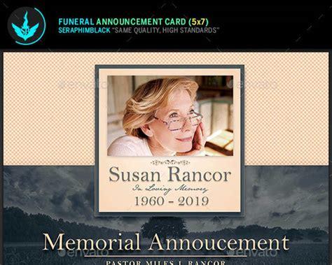 dye funeral memorial card template 12 printable funeral card templates free word pdf psd