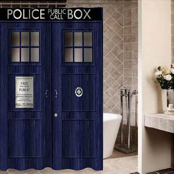 tardis curtains best tardis shower curtain products on wanelo