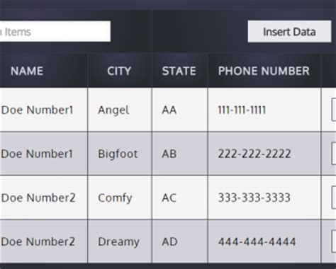 Angularjs Tables by Material Design Data Table With Angularjs Angular