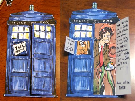 how to make a tardis card tardis card by taintedsilence on deviantart