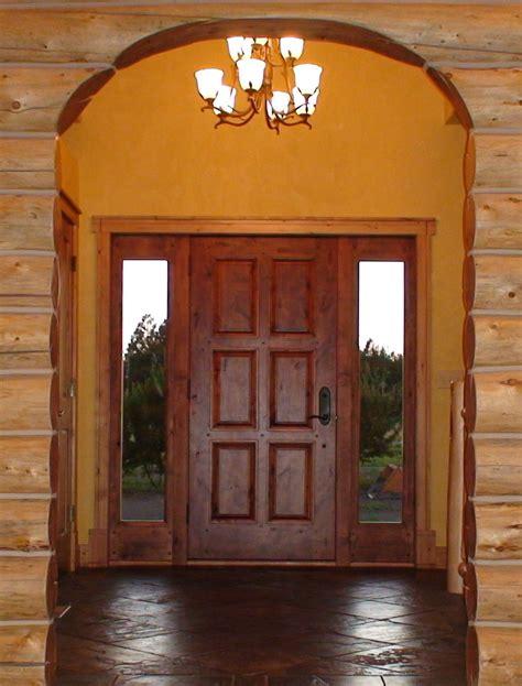 Hardwood Front Doors Home Entrance Door Wood Exterior Doors With Glass