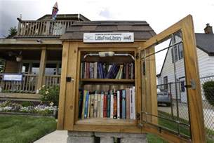 tiny library little free libraries gain popularity