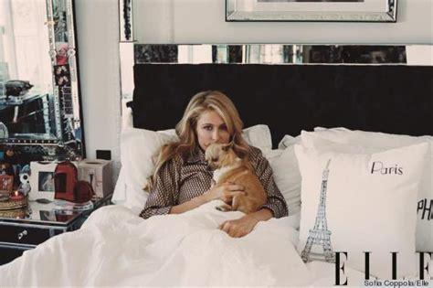Elle Decor Celebrity Homes Paris Hilton S Beverly Hills Home Featured In Elle Looks