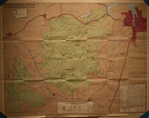 capitol forest map capitol forest washington capital forest washington