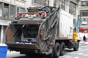 Garbage Truck by Garbage Truck Strikes Kills Pedestrian New York Post