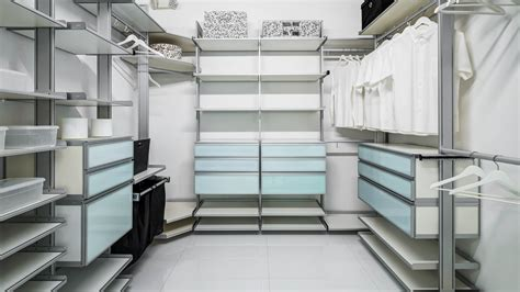 Aluminum Closet System by Closets Yamini Kitchens More