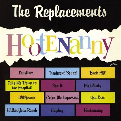 color me impressed color me impressed by the replacements on