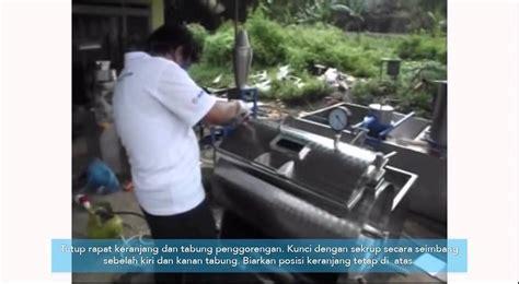 Mesin Vacuum Fryer cara mengoperasikan mesin vacuum frying