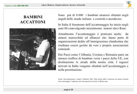 Mba St 39 by Libro Bianco 2003 Sul Lavoro Minorile Olm Barometro