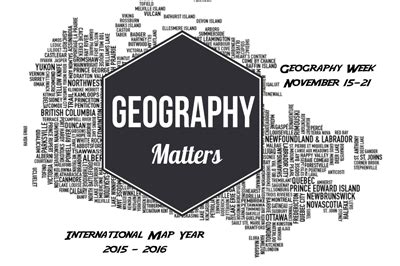 explore the power of maps – geography awareness week