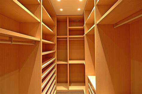 small walk in closets Living Room Contemporary with