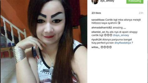 tutorial alis remaja woooow wanita ini sedang jadi perbincangan netizen