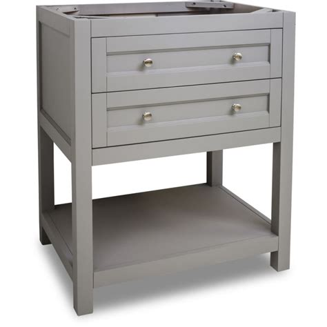 Jeffrey Alexander Van103 30 Grey Astoria Modern Collection Bathroom Vanities 30 Inch Wide