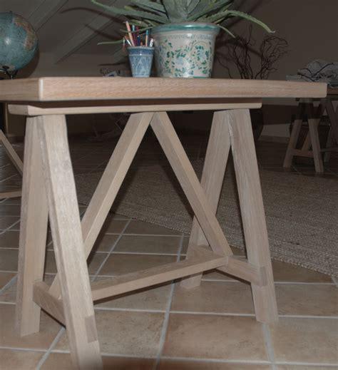 cavalletti per scrivania scrivania cavalletto atelier ga architettura e design