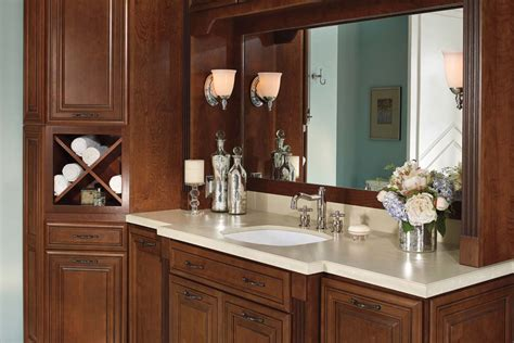 Waypoint Cabinets by Style 740 In Cherry Chocolate Claze
