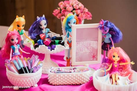 pony parties make a great birthday treat for kids my little pony birthday party